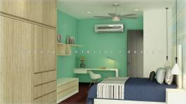 Modern Theme Bedroom Interior Design Shah Alam